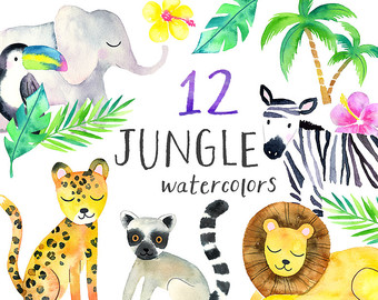 Jungle Clip Art.