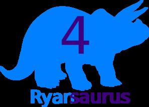 Ryan 4 Dino Final Clip Art at Clker.com.