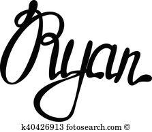 Ryan Clip Art Vector Graphics. 13 ryan EPS clipart vector and.