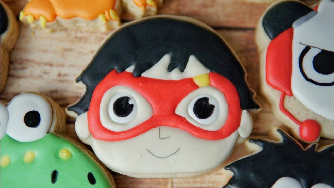 Ryan\'s World Red Titan Cookie!!!.