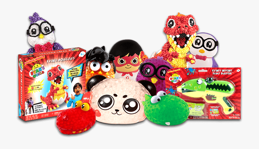 Ryan\'s World Toys Png , Free Transparent Clipart.