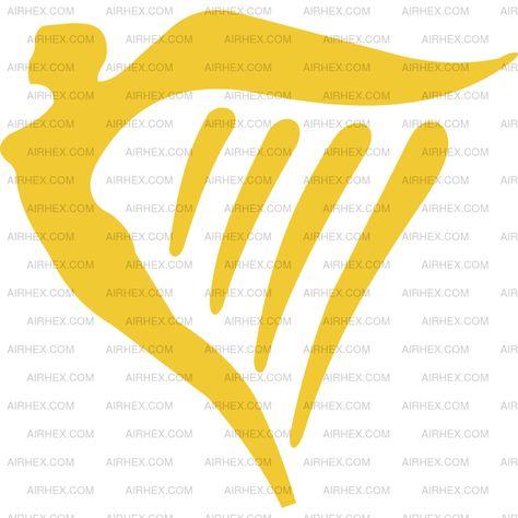 Ryanair logo.