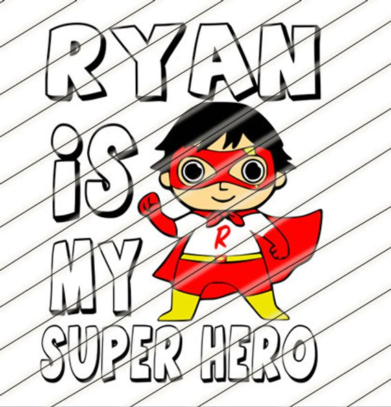 Ryans World Toy Review You Tube Kids svg, shirt, cup, sippy.