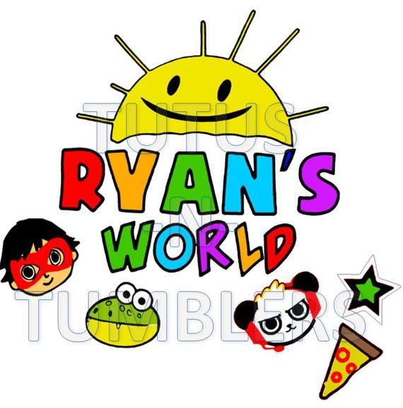 DIGITAL FILE Ryans World Toy Review You Tube Kids svg, make.