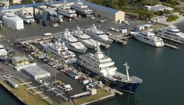 Rybovich Shipyard Marina.