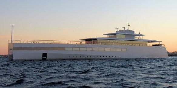 Superyacht Venus Arrives At Rybovich Yard in...