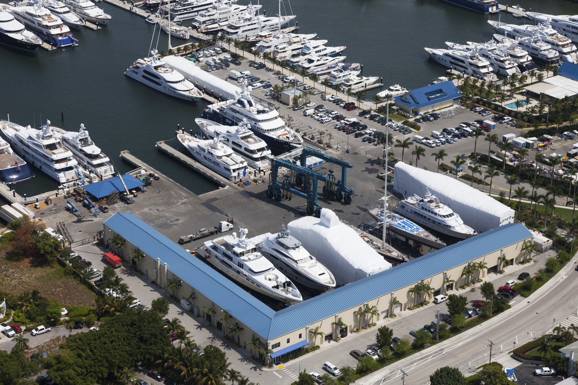 Superyacht refit Florida.