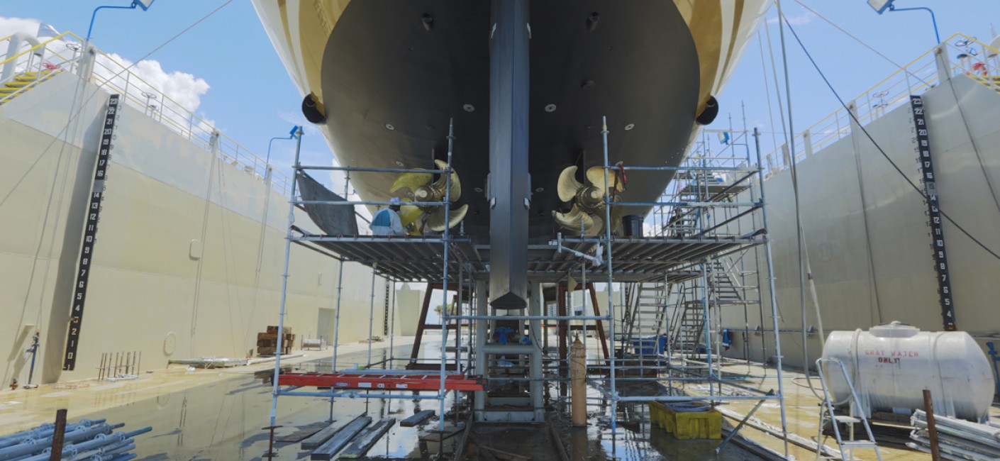 FELICITA WEST Completes an Exceptional Refit at Rybovich Shipyard.