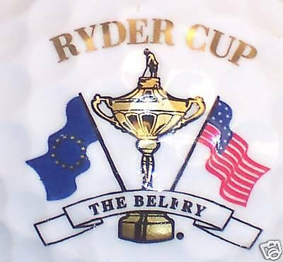 (1) RYDER CUP TOURNAMENT.