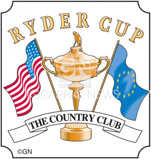 GOLF: Ryder Cup logo.