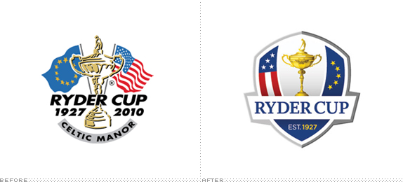 Brand New: The Ryder Cup gets a Crest.