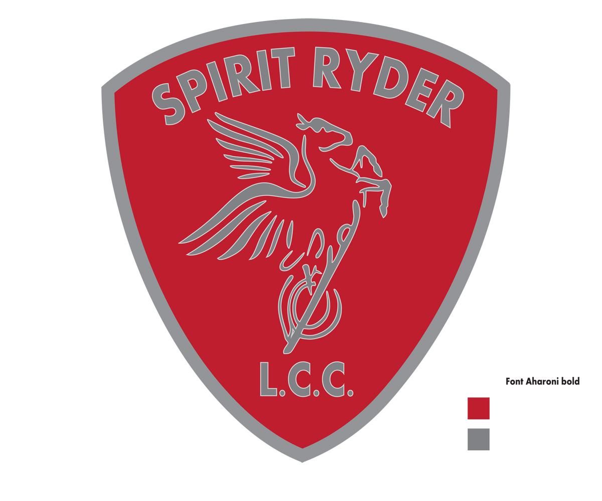 Bold, Colorful, Clothing Logo Design for Spirit Ryder, LLC.