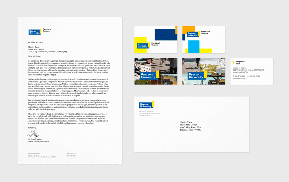 Brand New: New Logo and Identity for Ryerson University by.