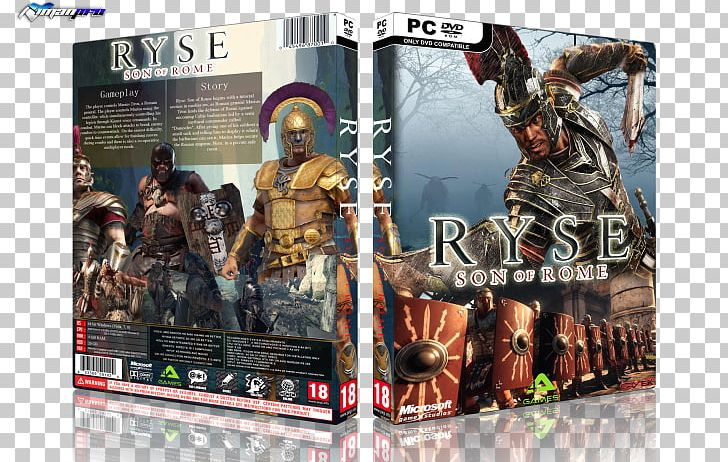 Ryse: Son Of Rome Xbox 360 PC Game Art PNG, Clipart, Action.
