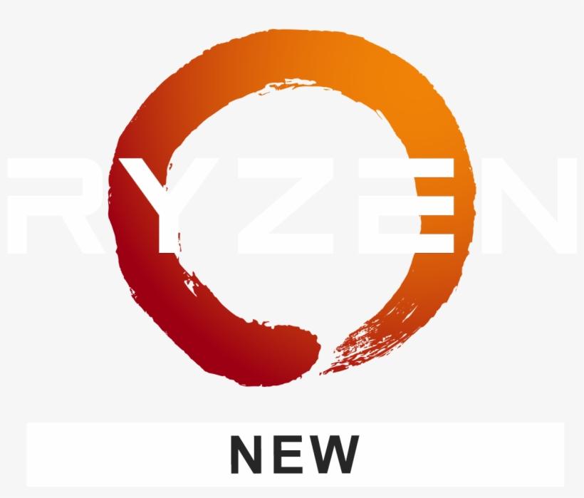 Amd Ryzen Logo White.