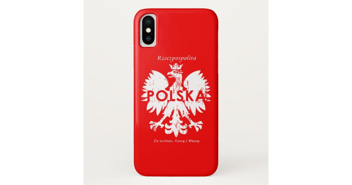 Poland Rzeczpospolita Polska Polish Eagle Emblem Case.