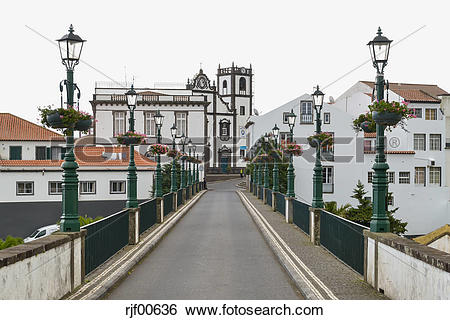Stock Images of Portugal, Azores, Sao Miguel, Nordeste rjf00636.