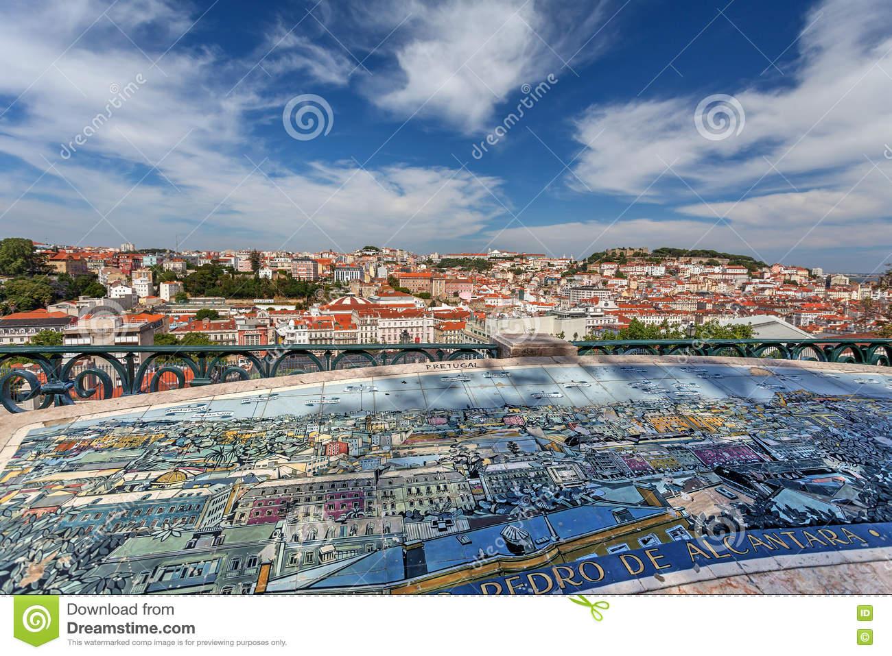View Miradouro Sao Pedro De Alcantara Lisbon Stock Photos, Images.