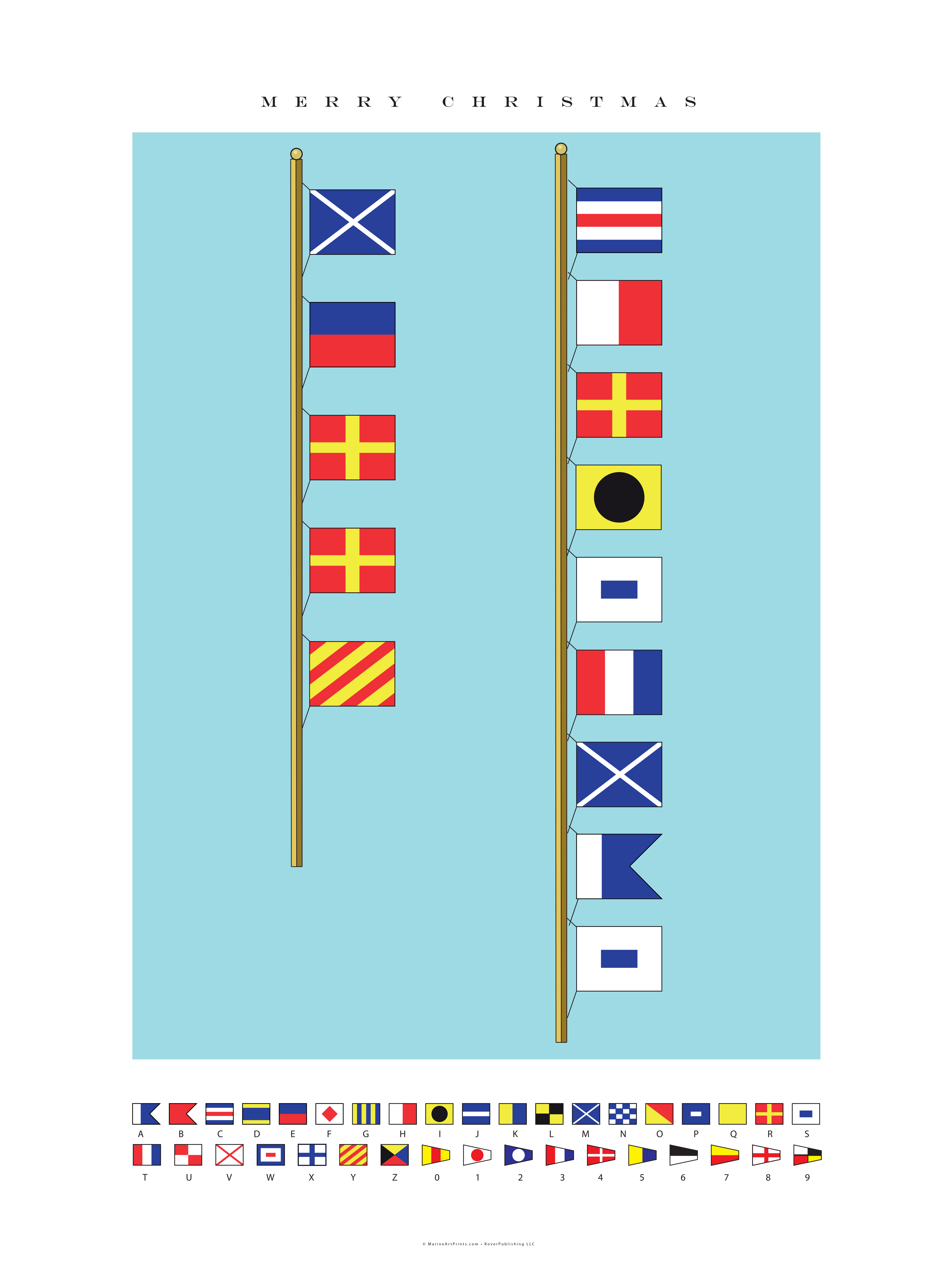 Nautical Flags Graphic.