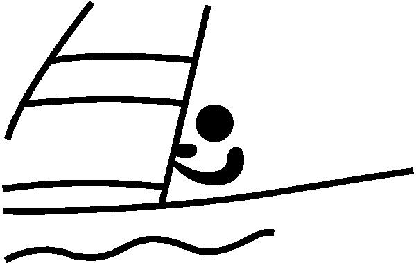 Sailing Pictogram SVG Downloads.