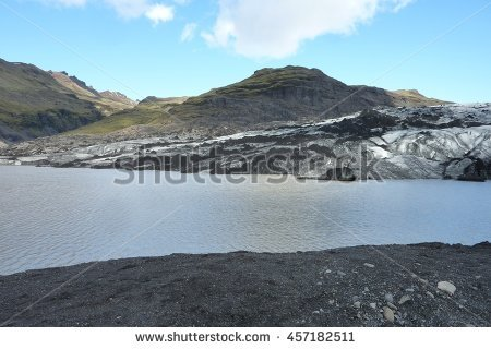Solheimajokull Stock Photos, Royalty.