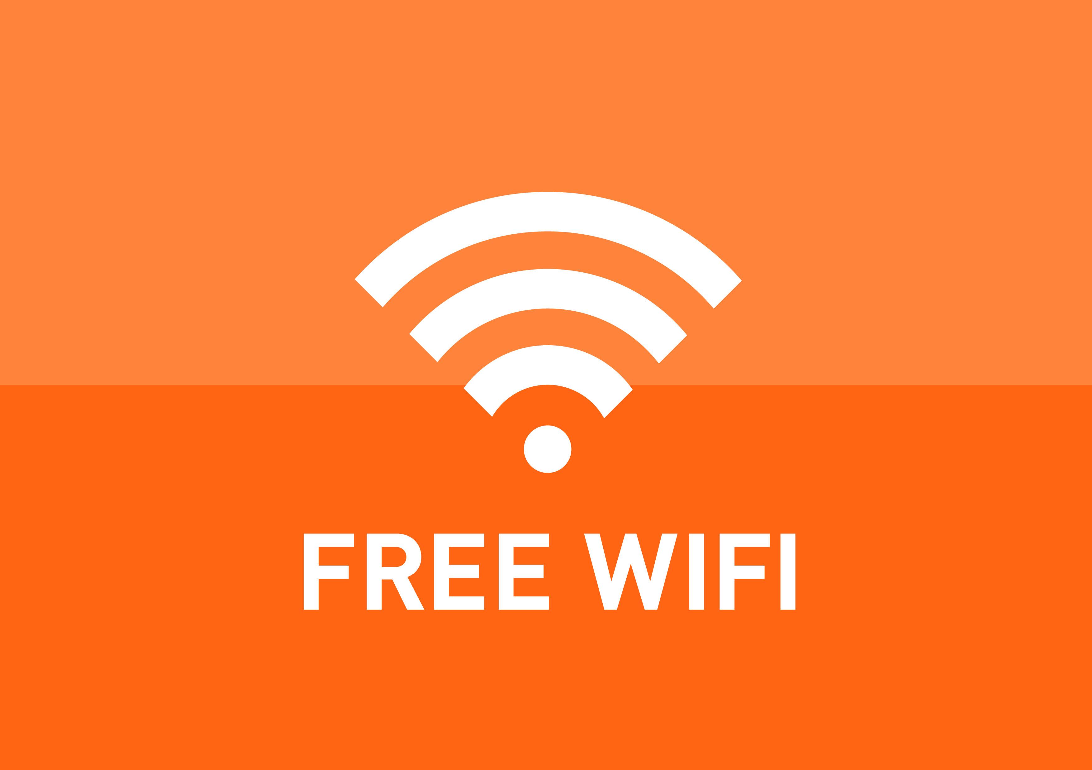 Free Wifi.