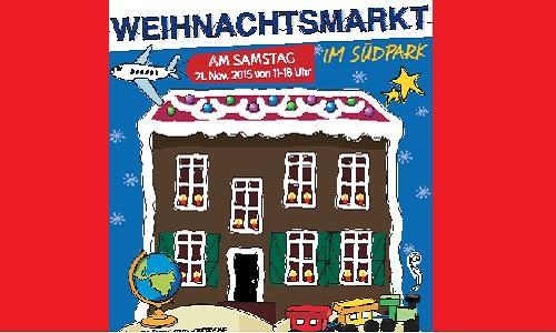 """Weihnachtsmarkt im Düsseldorfer Südpark: """"Ein Koffer voller."""