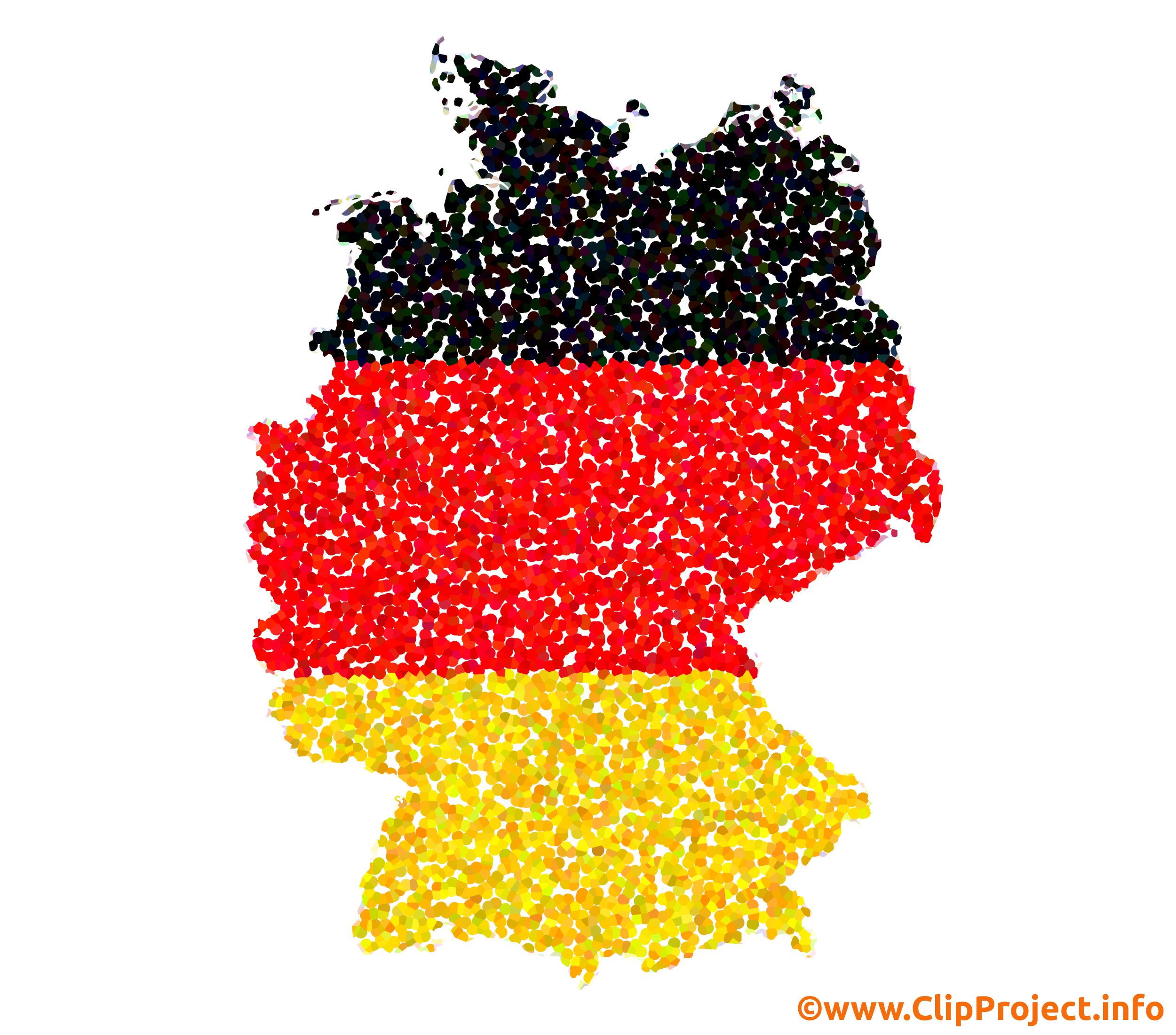 Deutschland Schwarz Rot Gold.