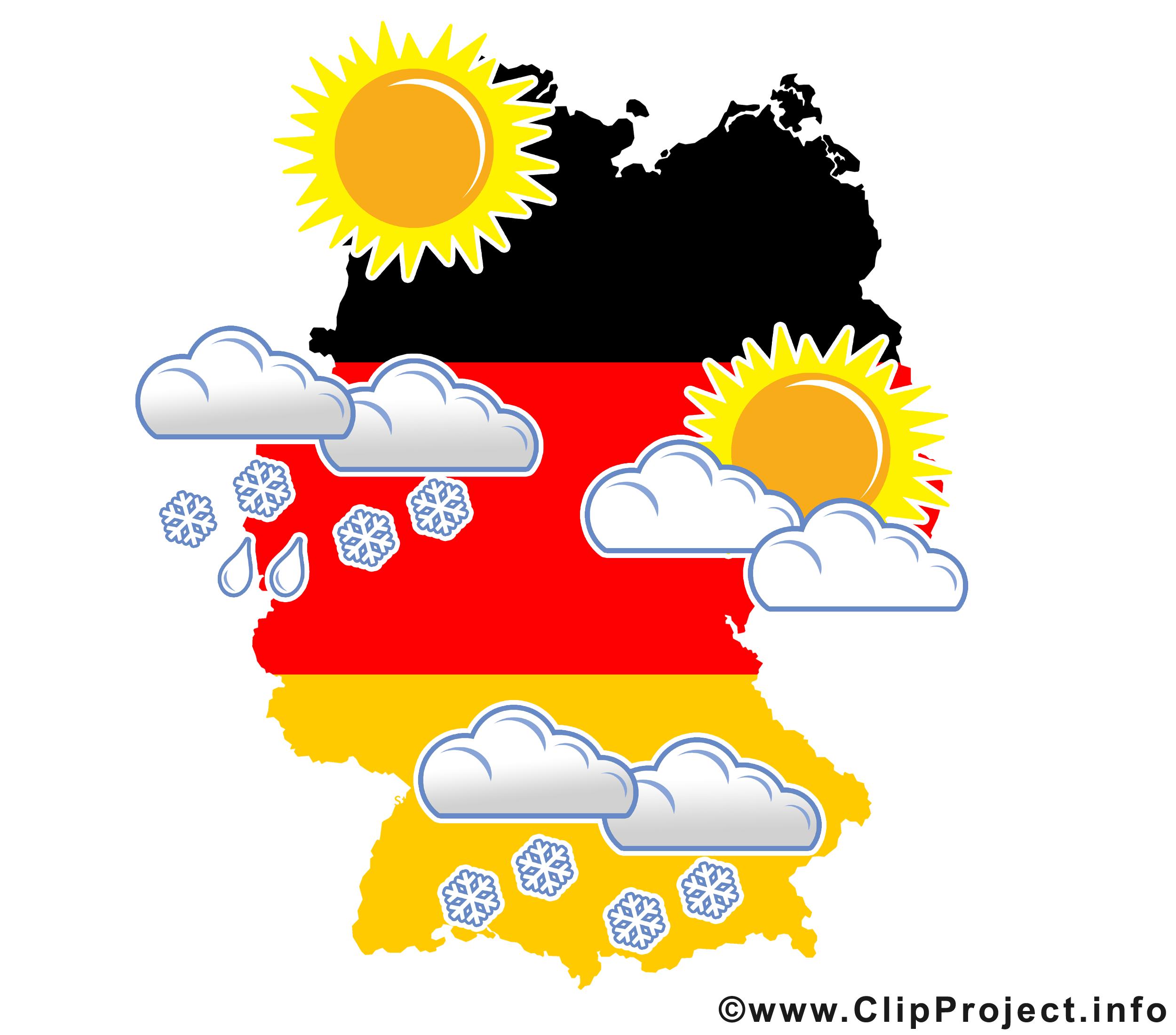 Wetter in Deutschland im Winter.