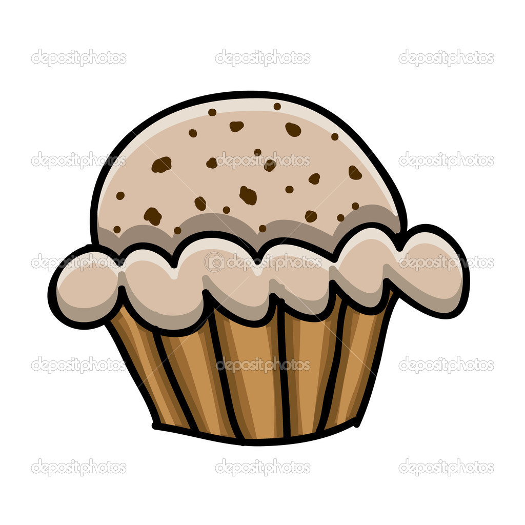 Rajz csésze sütemény — Stock Vektor © grgroupstock #33202219.