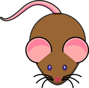 Brown Mouse Clip Art at Clker.com.