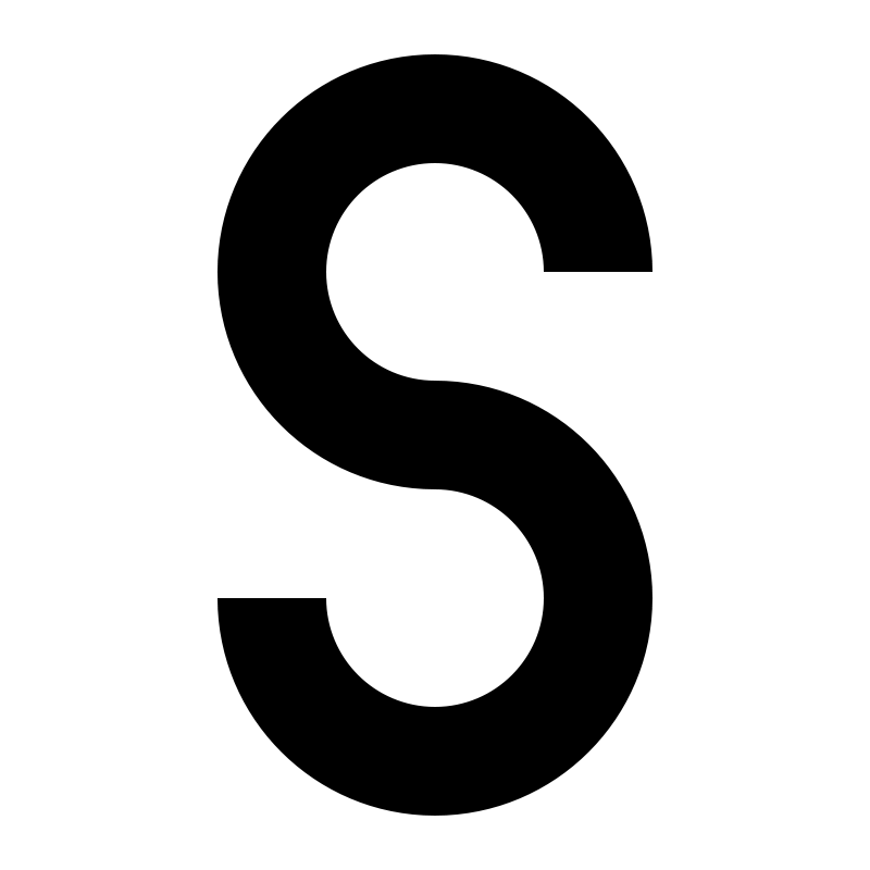 Free Clipart: Letter S.