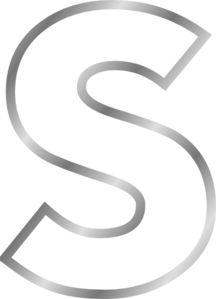 S clipart #7