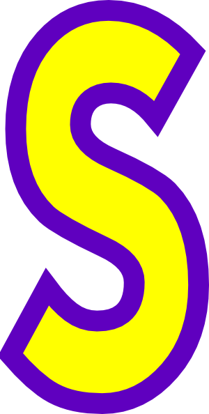 S clipart #5