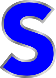 S clipart #14