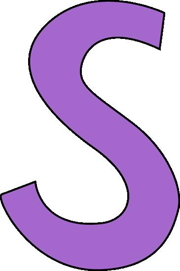 Letter S Clipart.