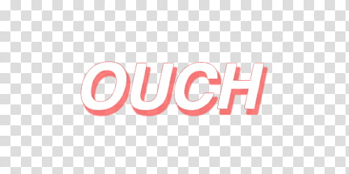 AESTHETIC S , white and pink ouch text on blue background.