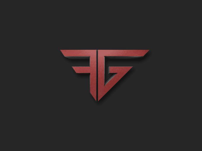 design super 3d gaming logo.