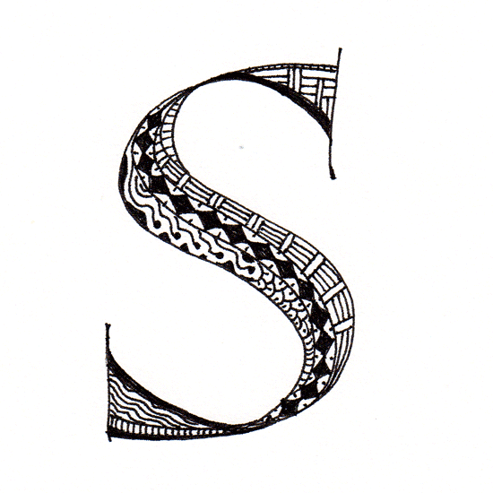 Letter S Designs Tattoos.