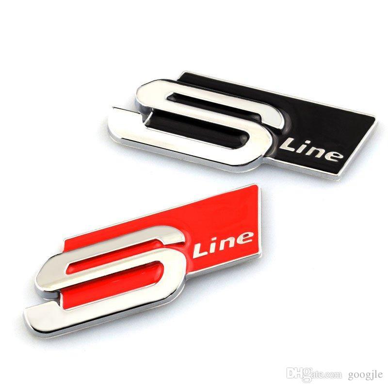 2019 3D Metal S Line Sline Car Sticker Emblem Badge Case For Audi A1 A3 A4  B6 B8 B5 B7 A5 A6 C5 Accessories Car Styling From Googjle, $1.08.