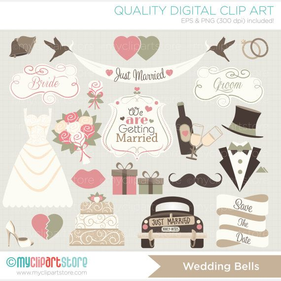 10 Best ideas about Wedding Clip Art on Pinterest.