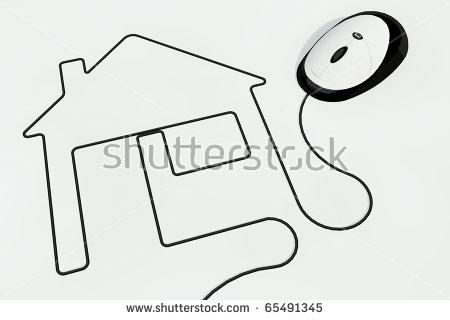 Computer Wire Clip Art.