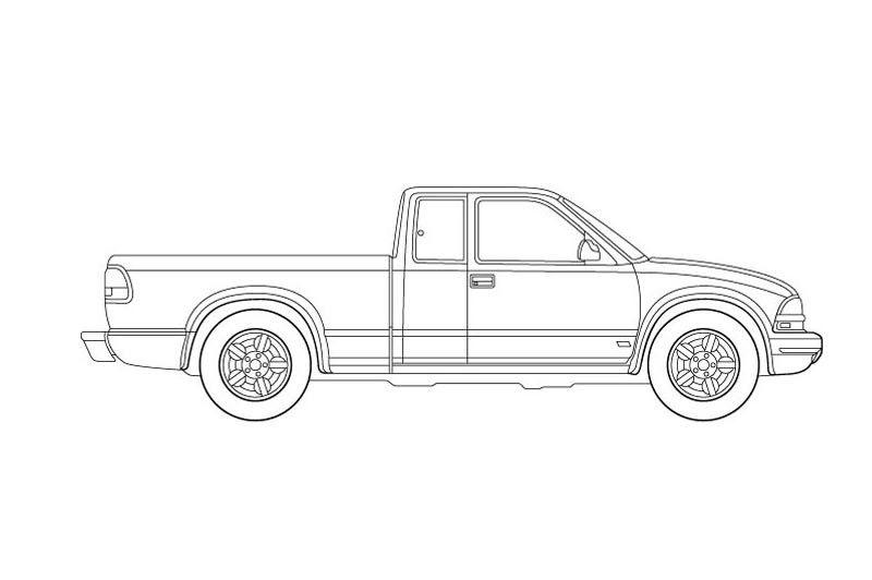 Chevrolet S10.