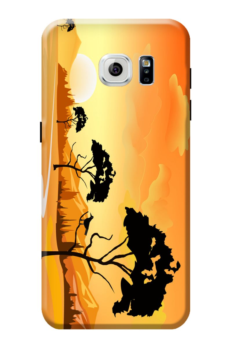 Buy Samsung Animals Clipart Mobile Back Cover For Galaxy S7 EDGE.