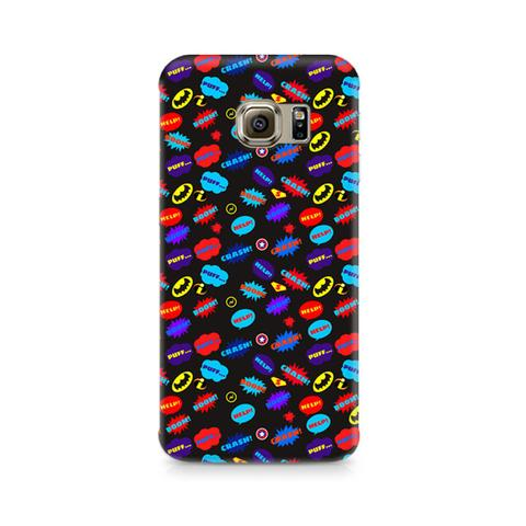 Buy Galaxy S7 All Superheroes on black Clipart Phone Case from.
