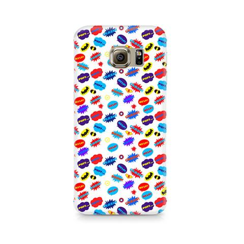 Buy Galaxy S7 All Superheroes on white clipart Phone Case from.