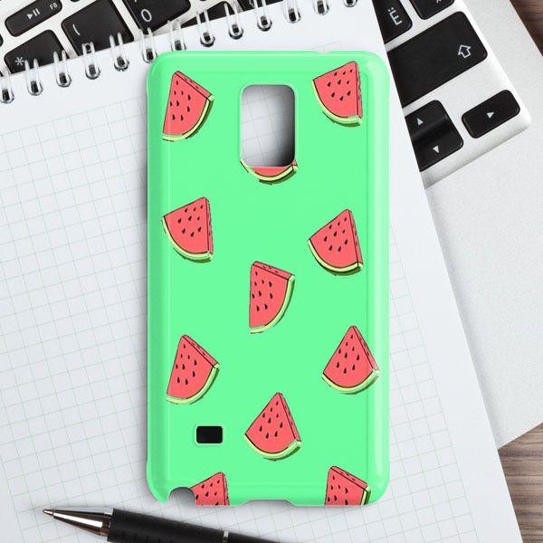 Watermelon Clipart Samsung Galaxy Note 4 Case.