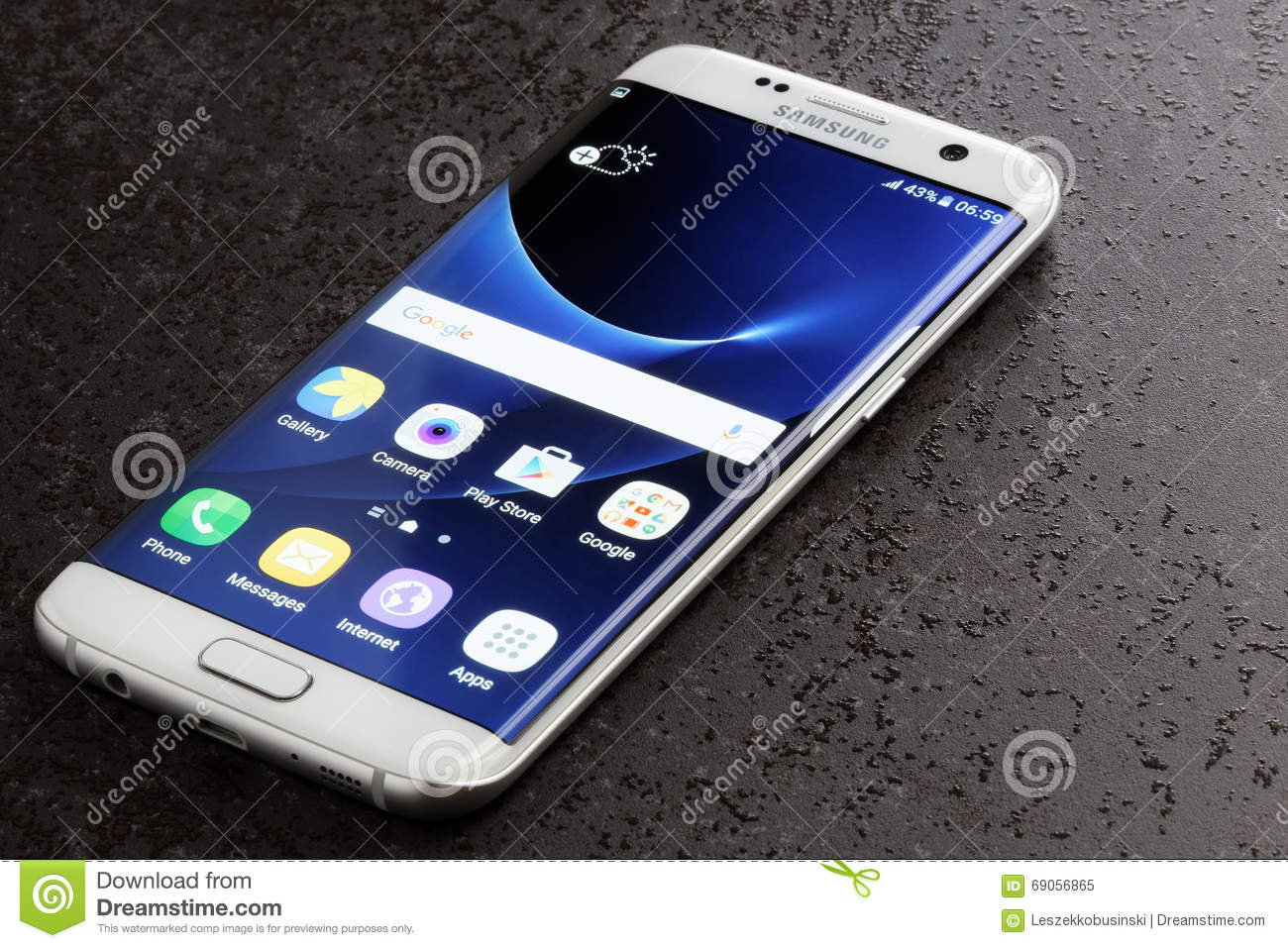 Galaxy S7 Edge Clipart.