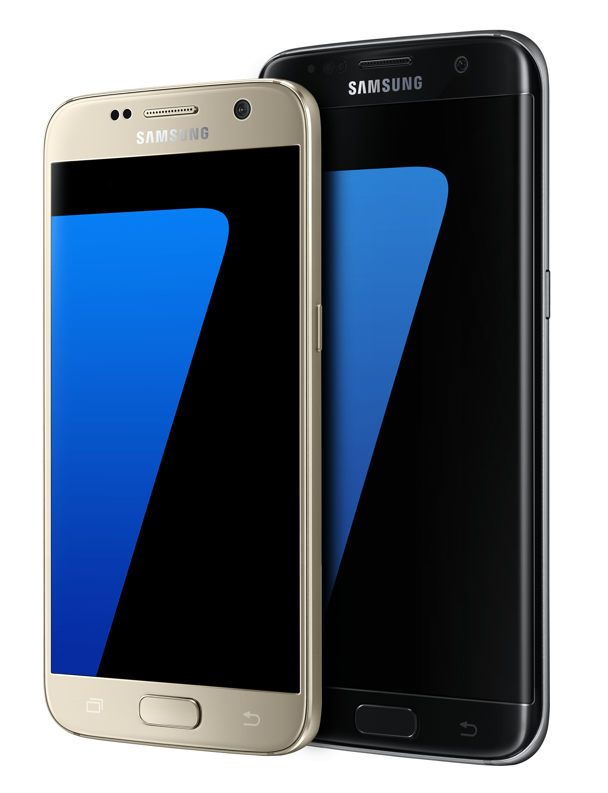 S7 and S7 Edge transparent PNG.