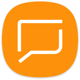 Messaging Icon of Flat style.